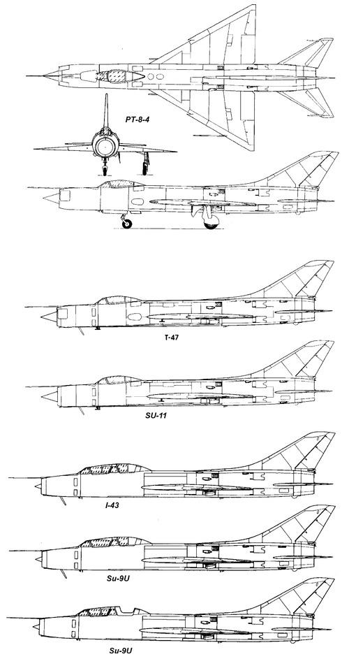 Sukhoi Su-11 Fishpot-C