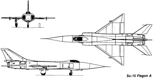 Sukhoi Su-15 Flagon A