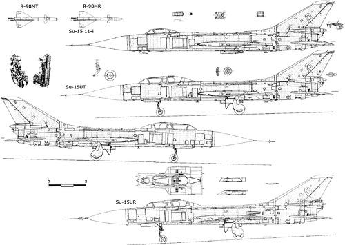 Sukhoi Su-15U Flagon