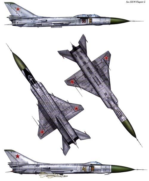 Sukhoi Su-15UM Flagon G