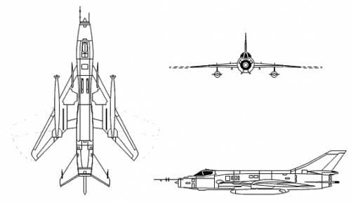 Sukhoi Su-17 / Su-20 / Su-22