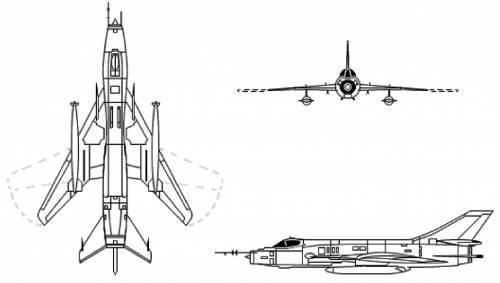 Sukhoi Su-17 Su-20 Su-22 Fitter