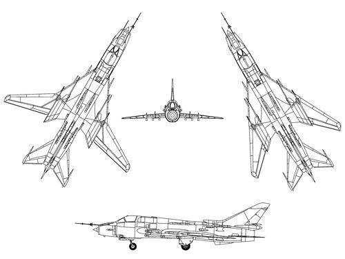 Sukhoi Su-17M4 Fitter K