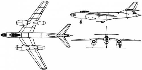 Tupolev 82 / Tu-22 (Russia) (1949)