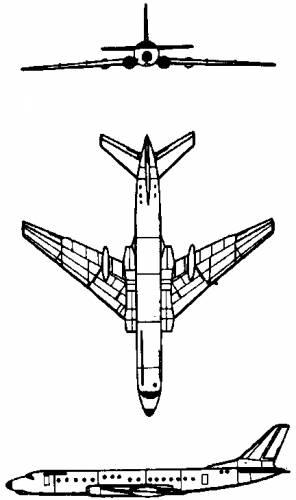 Tupolev Tu-104 (Russia) (1955)