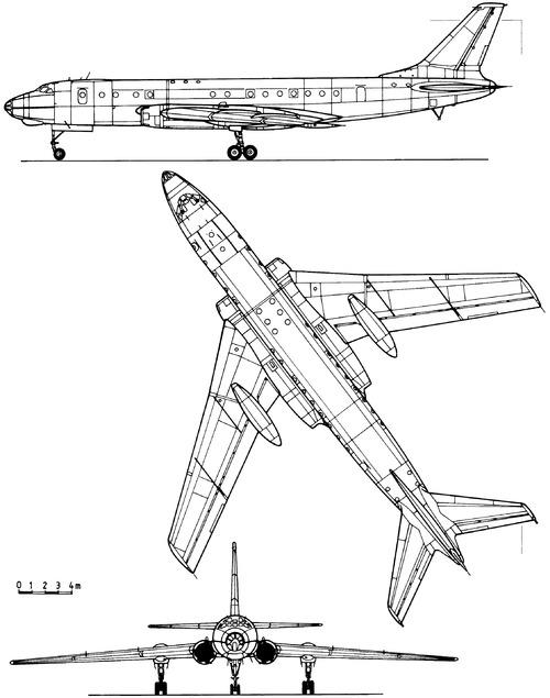 Tupolev Tu-104A Camel