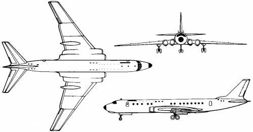 Tupolev Tu-110 (Russia) (1957)