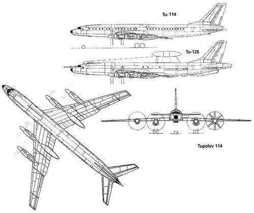 Tupolev Tu-114 Rossiya [Bear]