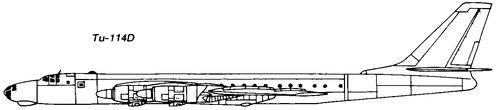 Tupolev Tu-114D Rossiya [Bear]