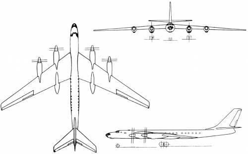 Tupolev Tu-116 (Russia) (1958)