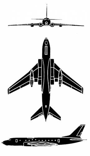 Tupolev Tu-124 Cookpot