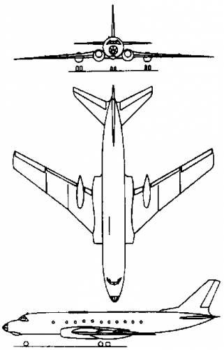 Tupolev Tu-124 (Russia) (1960)