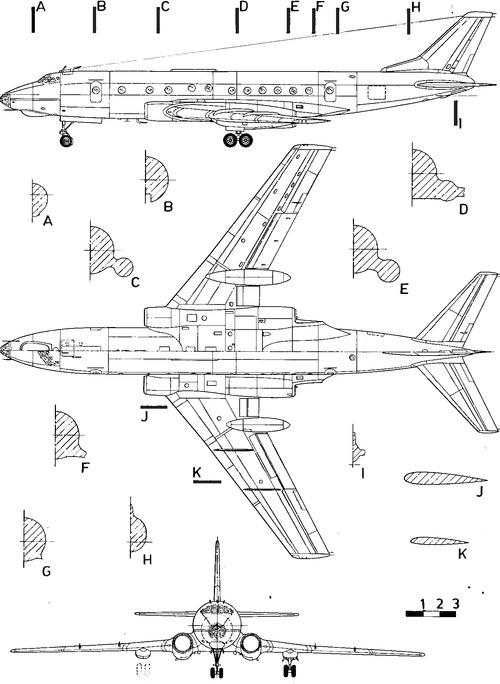 Tupolev Tu-124V Cookpot
