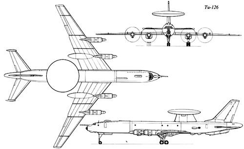 Tupolev Tu-126 Moss
