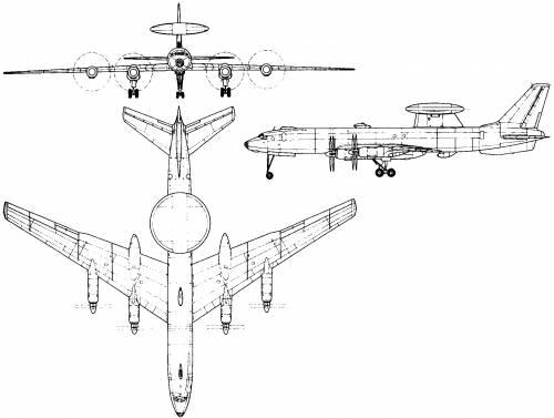 Tupolev Tu-126 (Russia) (1962)