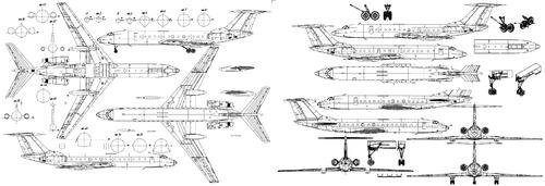 Tupolev Tu-134A Crusty