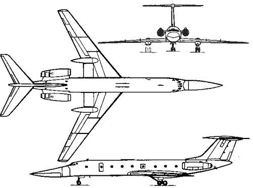 Tupolev Tu-134B Crusty