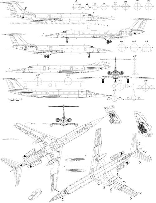 Tupolev Tu-134UBL Volga