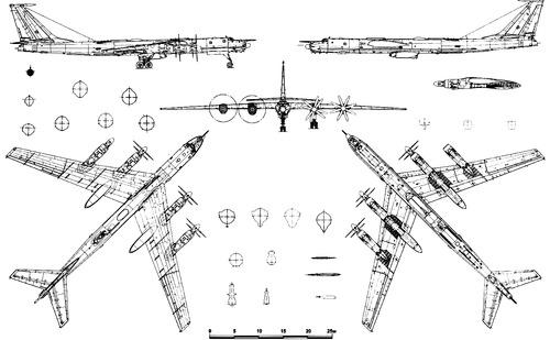 Tupolev Tu-142MR Bear F