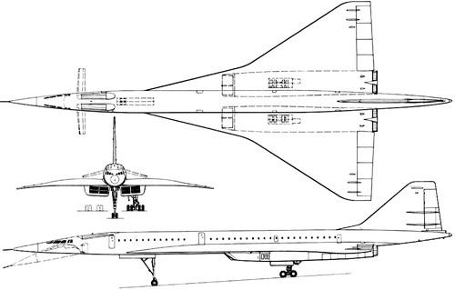 Tupolev Tu-144 Charger