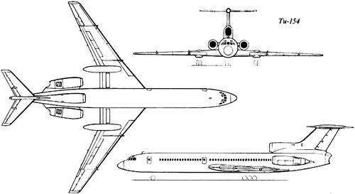 Tupolev Tu-154 Careless