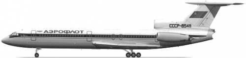 Tupolev Tu-154B