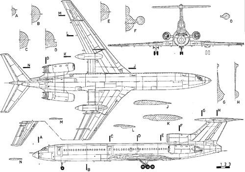 Tupolev Tu-154M Careless