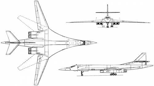Tupolev Tu-160 (Russia) (1981)