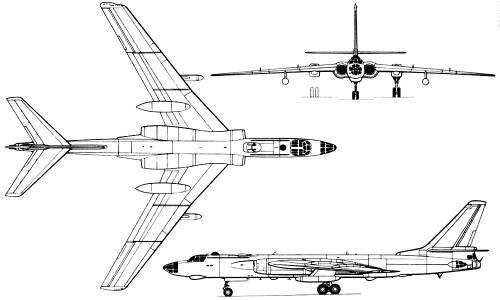 Tupolev Tu-16 (Russia) (1951)