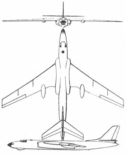 Tupolev Tu-16 Type 39 Badger