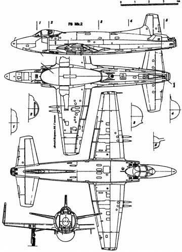 Vickers Supermarine 398 Attacker