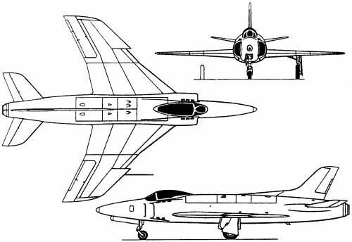 Vickers Supermarine 541 Swift 541