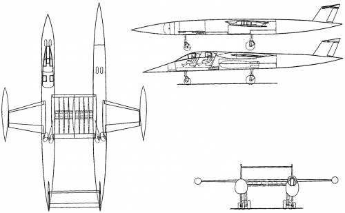 Vickers Supermarine Type 582 Twin
