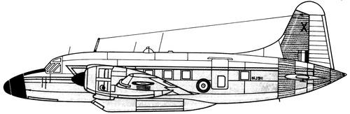 Vickers Varsity T.1