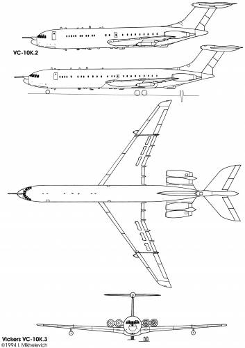 Vickers VC10K