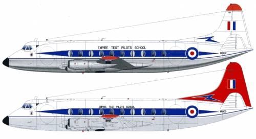 Vickers Viscount 745D