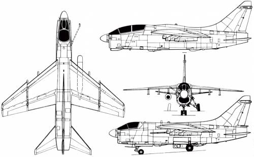Vought A-7 Corsair II (USA) (1965)