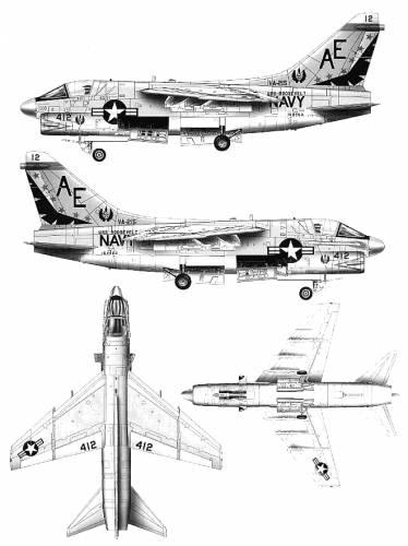 Vought A-7B Corsair II