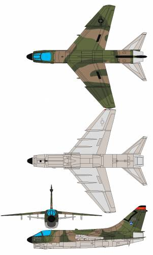 Vought A-7D Corsair II