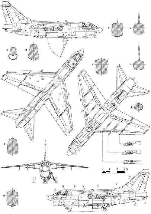 Vought A-7H Corsair II