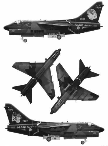 Vought A-7P Corsair II