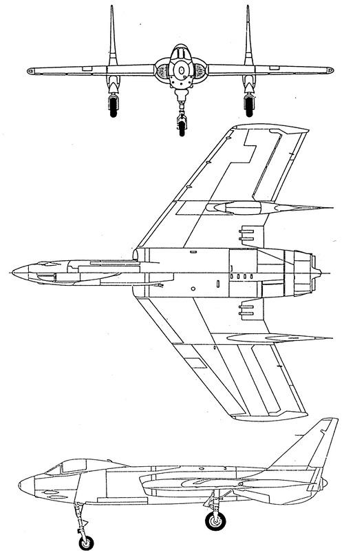 Vought F7U-1 Cutlass