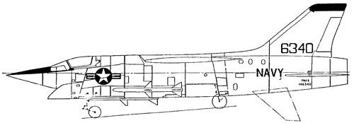 Vought F8U-3 Crusaider
