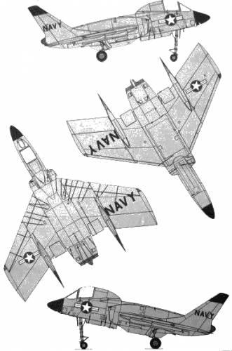 Vought F-7U-3 Cutlass