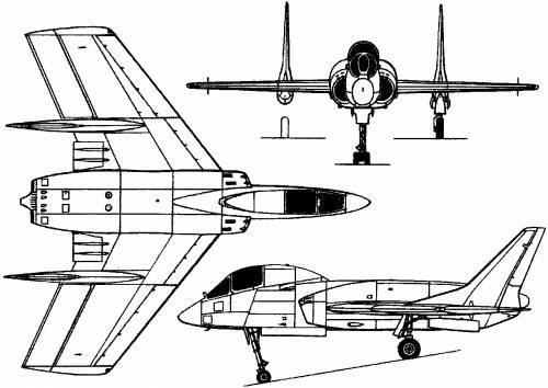 Vought F-7U Cutlass (USA) (1948)