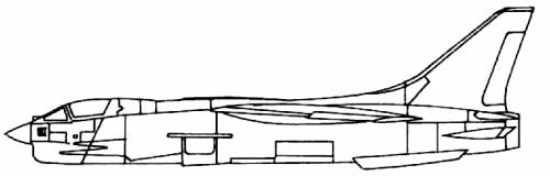 Vought F-8C Crusader