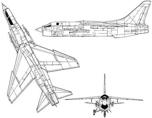Vought F-8E Crusader