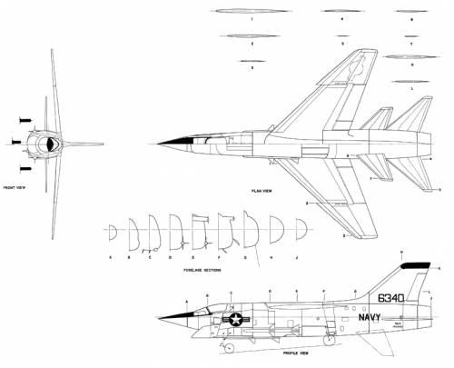 Vought F-8U
