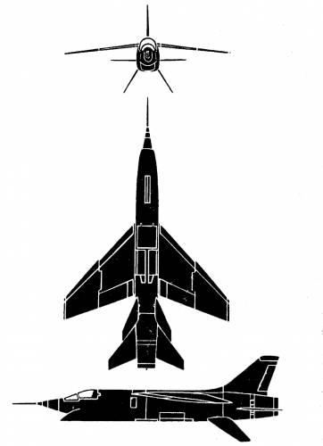 Vought F-8U 2 Crusader