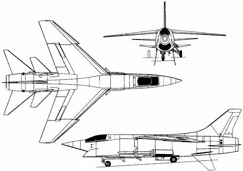 Vought F-8U-3 (USA) (1958)